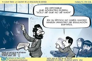 130409.socrates.solo.se.no.se.nada.ministro.educacion.espanol