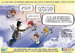 150421-FB-profesor-fallecido-barcelona-ballesta-angeles-cielo-ins-joan-fuster