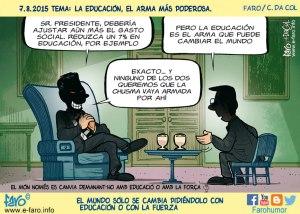 150807-FB-educacion-gasto-social-sombra-arma-pueblo-sillon-puro