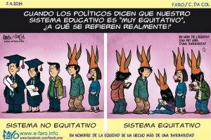 140407.FB.sistema.educativo.equitativo.alumnos.burros.politicos.PISA.informe