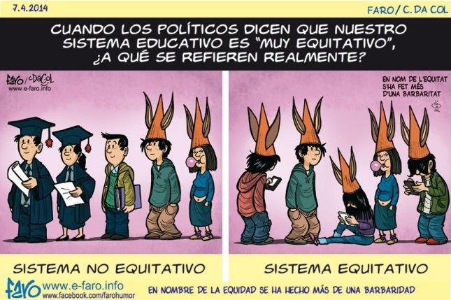Sistema educativo equitativo