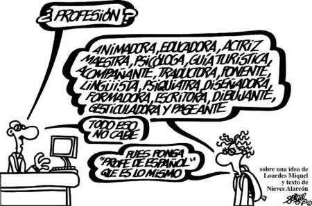 Resultado de imagen de viñetas de forges sobre educación