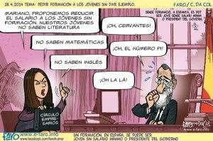 140428.FB.Rajoy.despacho.circulo.empresarios.salario.jovenes.son.formacion.ingles.