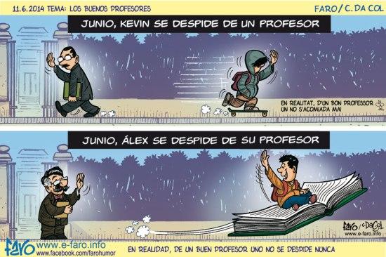 140611.FB-profesor.alumno.despedida.junio.libro.volador