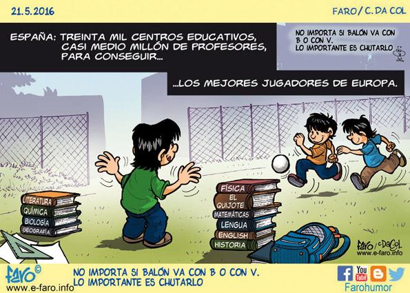 160521-fb-educacion-futbol-partido-libros-espana-escuelas-nenes-pelota