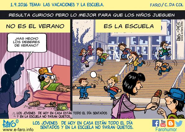 160901-fb-educacion-verano-nenes-jugar-padre-hijo-familia-escuela-patio-pantallas-movil-adiccion
